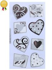 VELLUM I DO's Stickers Valentines Hearts Wedding Love Sticko Stickopotamus