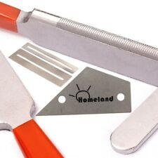 1Pc Stainless Steel fret crowning File Leveling Guitar Repair Tools Tuning Set