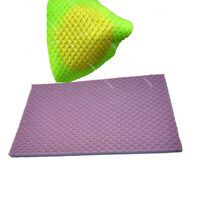 Lace Mat Mermaid Fish Scale Fondant Embosser Texture Silicone Mould Cake Mold