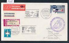 12088) DDR 30 J.Zivile Luftfahrt... MaSST 1.7.85, Reco-Brief  Berlin - Sofia