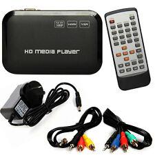 Full HD 1080P HDMI Media Player Center TV HDD MKV SD USB MP4 RM RMVB MPEG AVI