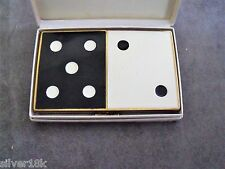 "COTY ""COME SEVEN"" VINTAGE ENAMEL COMPACT serial 1905 NOS in ORIG BOX c1940s"