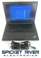 "Lenovo ThinkPad T440S i5-4300U 1.90GHz 750GB HDD 8GB RAM Win10Pro 14"" #51440"