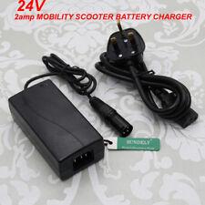 24v 2amp 2ah Battery Charger Lead Acid Gel mobility scooter