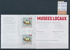 LM31945 Luxembourg 2016 trains local museums good sheet MNH fv 7 EUR