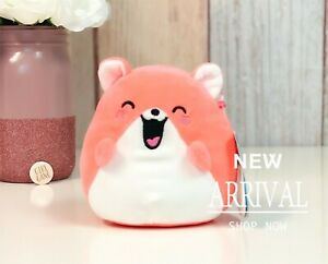 "*SALE*KellyToy Squishmallow 5"" Halisa the Orange Hamster NEW HTF Plush Toy LT ED"
