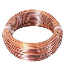 12 Ga Bare Copper Round Wire - Dead Soft -  2 Lb - 100 Ft Coil