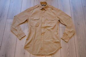 Ralph Lauren Black Label Safari Shirt S BN