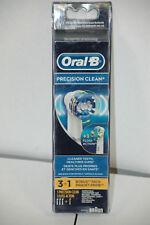 GENUINE Oral B Replacement Brush Heads 3 Precision Clean EB20 + EB25