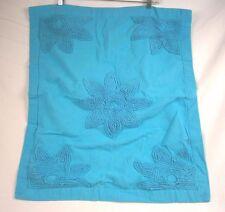 Company Store Ashley Standard Pillow Sham Caribbean Blue 195C 34095B