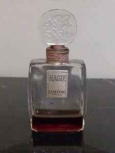 "VINTAGE 1950's LANCOME MAGIE COLLECTIBLE PERFUME BOTTLE 3.5"""