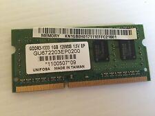 SO-DIMM Unifosa GU672203EP0200 (1GB DDR3 PC3-10600 1333MHz 204-pin)