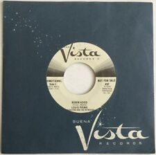 Disney LOUIS PRIMA - ROBIN HOOD / FRIAR TUCK Buena Vista Record F-497 / PROMO