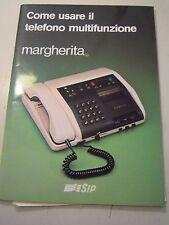 MANUALE D'ISTRUZIONI - TELEFONO MULTIFUNZIONE - MARGHERITA SIP - VINTAGE C10-909
