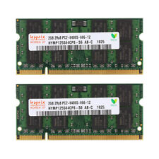 New Più DDR2 800MHz 4GB 2X 2GB PC2-6400 Portatile SO-DIMM Memoria 200pin RAM