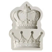 3D Crowns from Princess Queen Silicone Mold Fondant Cake Cupcake Decorating Tool
