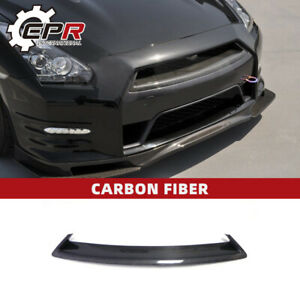 For 12-16 Nissan GTR R35 Carbon Fiber Front OE Bumper Grille Mesh Cover Kit