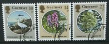 GUERNSEY 1986 Europa: Nature Environment Protection Set of 3 Fine USED SG366/368