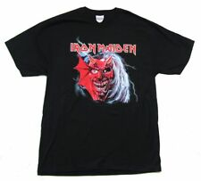 Iron Maiden Purgatory Ed Flames Black T Shirt Large New Official 2004 NOS
