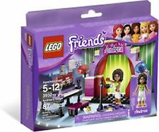 Lego Friends Andrea's Stage Set 3932 87 pieces NEW factory sealed