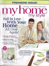 My Home My Style magazine Storage solutions Budget makeovers Design and decor