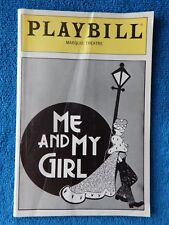 Me And My Girl - Marquis Playbill - January 1988 - Jim Dale - Maryann Plunkett