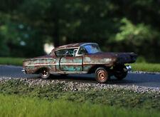 1/64 Castline M2 Machines Chevrolet 1958 Impala Custom Gasser Auto Drag Car