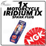 1x NGK Bougie allumage iridium IX POUR SYM 125cc JOYRIDE 125 (19mm TR) 05- >