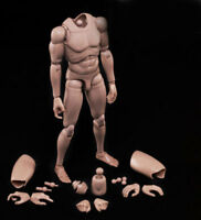 "12"" Europe Skin Man Male Body Figure Model Toy Fit 1/6 Hot Head Sculpt MX02-A"