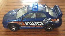 Matchbox Subaru Impreza Police Car Blue