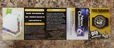 2007 Southern Illinois Miners Frontier League Five Unfolded Pocket Schedule