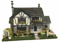 "1:148 1//4/"" Scale Dollhouse Miniature Wooden Victorian Nursery Room Kit Complete"