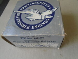 LOT OF 23 EA NOS PRATT & WHITNEY PISTON RINGS    P/N: 13681CP15