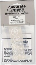 ACCURATE ARMOUR DE05 - ALLIED STARS WWII - 1/35 DECALS