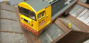 Lima Class 20 20215 Railfreight Bodyshell sold as spares.