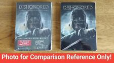 Dishonored Steelbook G1 Sized Exclusive Preorder Bonus Very Rare XBOX 360 PS3