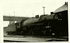 7A856 RP 1940s? CMStP&P MILWAULKEE RAILROAD ENGINE #339