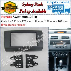 Fascia facia Fits Suzuki Swift 2004-2010 Double Two 2 DIN Dash Kit
