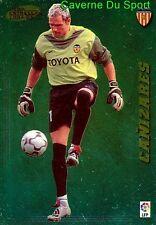362 CANIZARES ESPANA VALENCIA.CF CARD LIGA 2005 PANINI