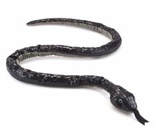Wildlife Artists 55 inch Black Mamba Snake Stuffed Animal