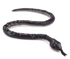 Wildlife Artists 55 inch Black Mamba Snake Stuffed Animal