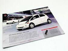 2014 Mitsubishi MiEV ES Information Sheet Brochure