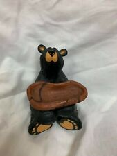 BEARFOOTS JEEVES BEAR FIGURINEBY JEFF FLEMING ~ NUMBERED EDITION ~ EXCELENT
