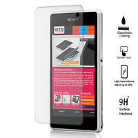 Sony Xperia Z1 Tempered Glass Screen Protector, Olephobic Coating 9H