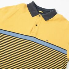 90s Vintage TOMMY HILFIGER Striped Polo Shirt | Mens 2XL | Retro Stripe Rugby