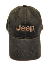 Jeep Bronze Weathered Cotton Twill Hat Official Licensed