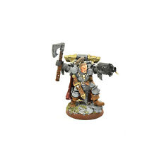 SPACE WOLVES Wolf lord converted #1 PRO PAINTED METAL Warhammer 40K