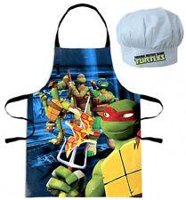 Turtles Kochschürze + Mütze Küchenset für Kinder Teenage Mutant Ninja Turtles