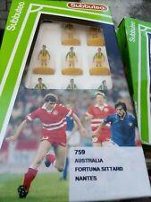 rare Subbuteo LW 759 AUSTRALIA, NANTES,FORTUNA SITTARD, ref Box, anni  90