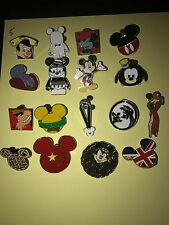 Disney Pins Lot Of 20 Trader Pins Mickey Mouse Frozen , Cars And More!